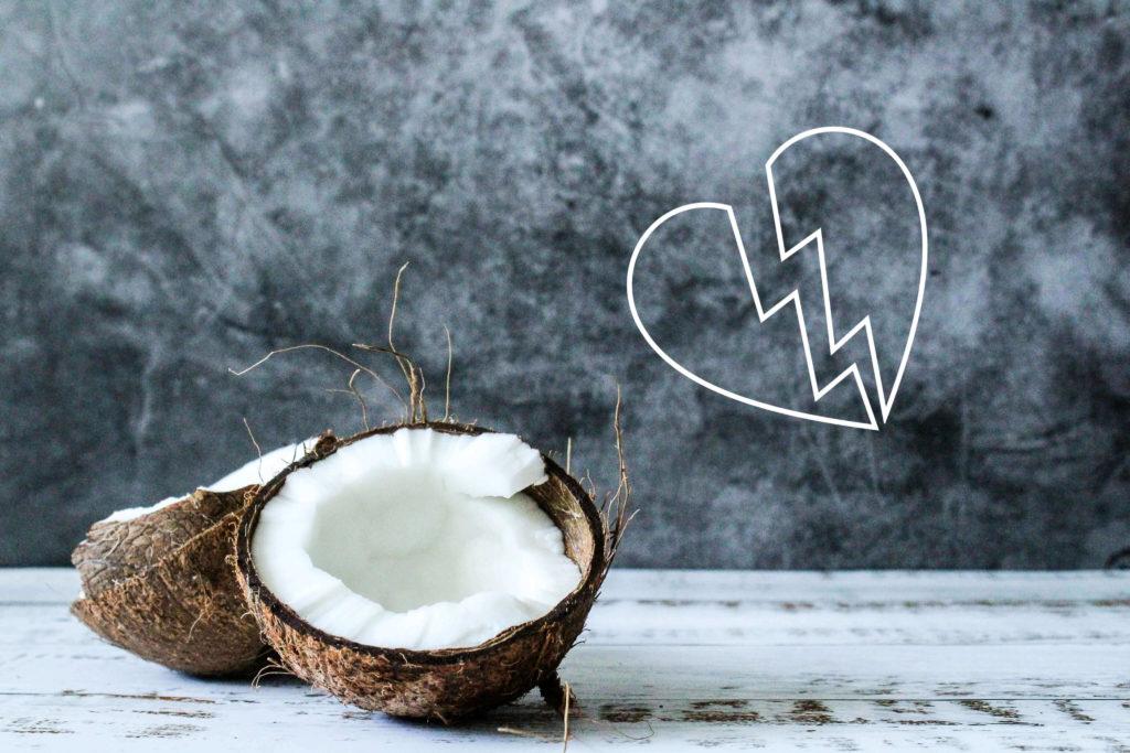 ココナッツオイルの失敗談