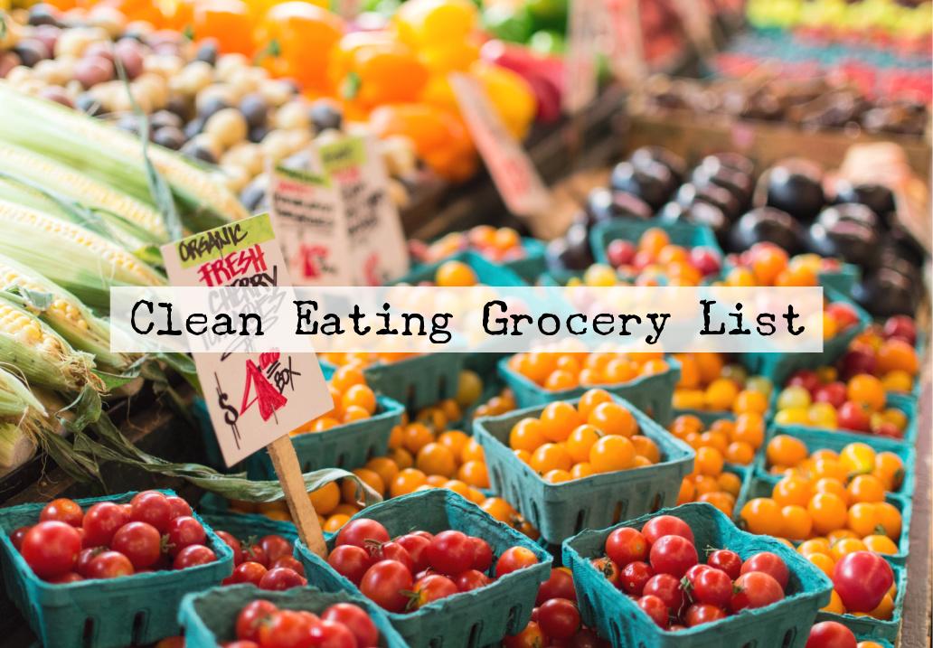 クリーンイーティング 食品リスト